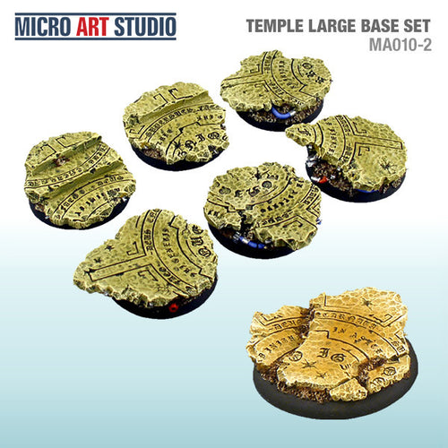 Micro Art Temple Large Bases