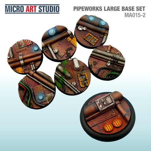 Micro Art Pipeworks Large Bases