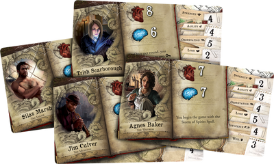 Mansions of Madness - Horrific Journeys: Figure and Tile Collection