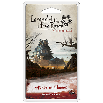 Legend of the Five Rings - LCG : Honor in Flames