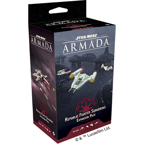 Star Wars: Armada - Galactic Republic fighter squadrons