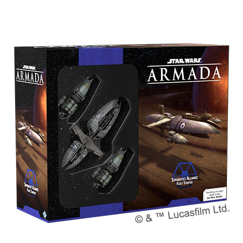 Star Wars: Armada - Sepratist Alliance fleet starter