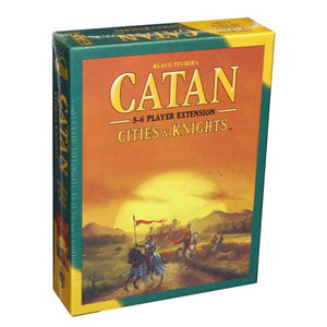 Catan : Cities & Knights 5-6 player expansion