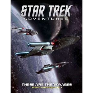 Star Trek Adventures RPG : These are the voyages