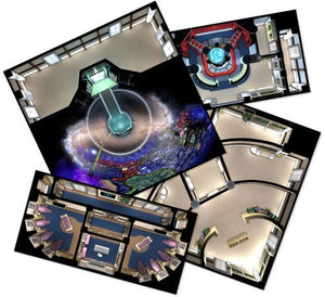 Star Trek Adventures RPG : The Next Generation starfleet tile set