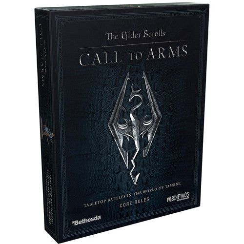 The Elder Scrolls: Call to Arms - Core Rules box
