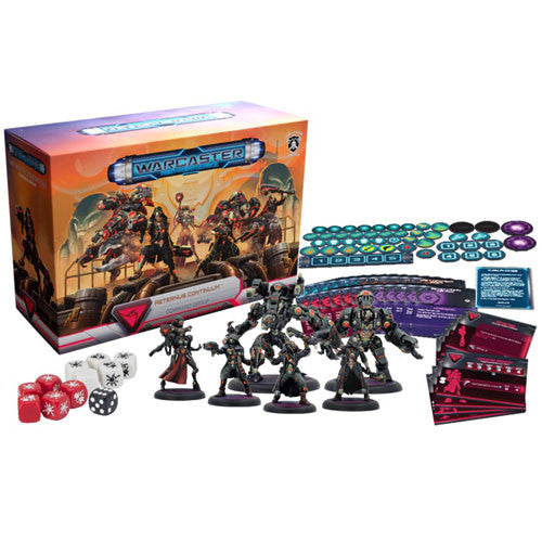 Warcaster Neo-Mechanica : Aeternus Continuum command group - starter set
