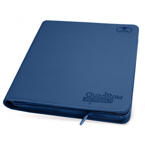 Ultimate Guard : 12-pocket Quadrow Xenoskin Zip Folio