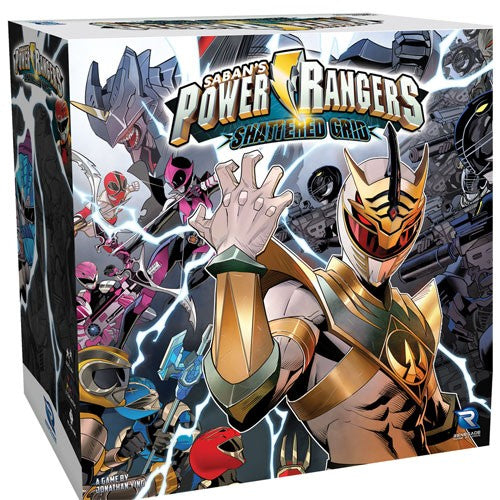 Power Rangers : Heroes of the Grid - Shattered Grid (August 2019)