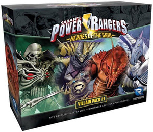 Power Rangers : Heroes of the Grid - Villains pack 1