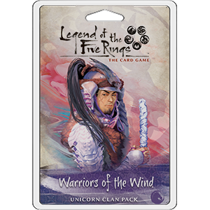 Legend of the Five Rings - LCG : Warriors of the Wind (clan pack)