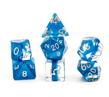 Neutron : Power Teal - 7 dice set