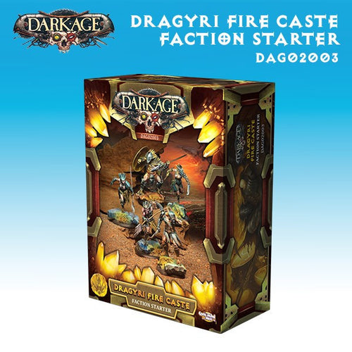 Dragyri: Fire Caste Faction Starter