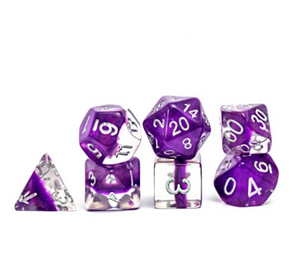 Neutron : Violet - 7 dice set