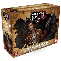 Wild West Exodus - The Wayward Eight (plus Rules and Gubbins) bundle