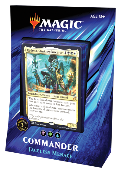 MtG: Commander 2019 Faceless Menace