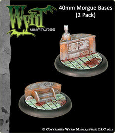Malifaux : 40mm Morgue Bases (2)