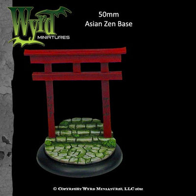 Malifaux : 50mm Asian Zen Base