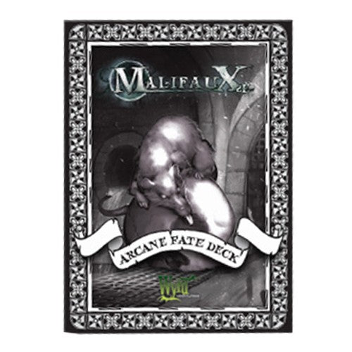 Malifaux : Arcane Fate Dark deck