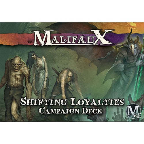 Malifaux : Shifting Loyalties campaign deck