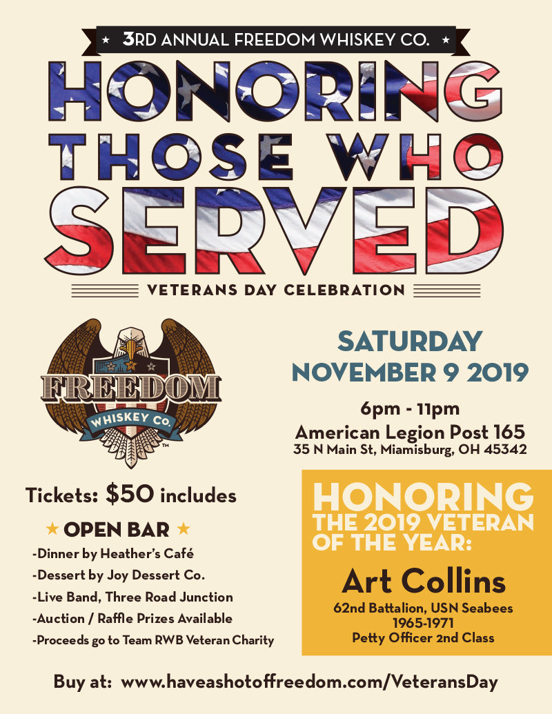 Veterans Day Ticket - NOV 9 2019