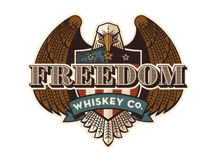 Freedom Whiskey Co. Premium Sticker