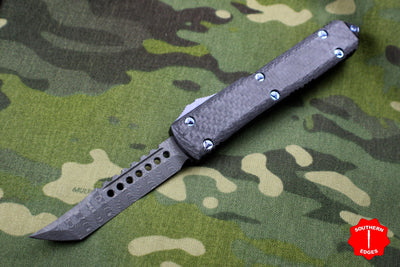 Microtech Ultratech Hellhound Out the Front Knife