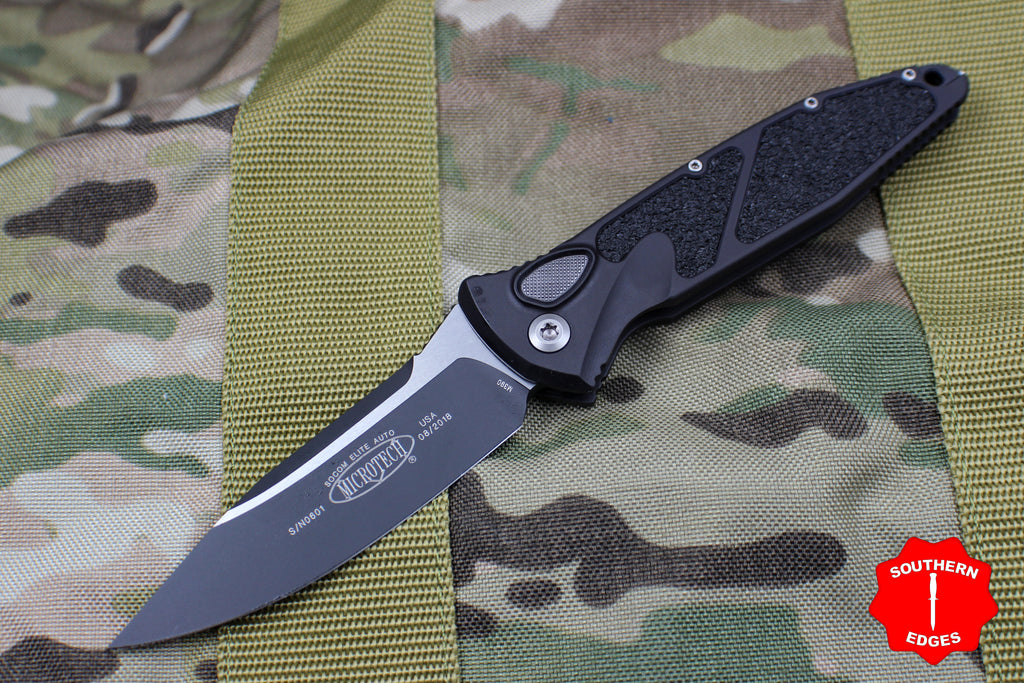 Microtech Socom Elite Single Edge (OTS) Out The Side Auto