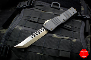 Microtech Combat Troodon Hellhound Style Blade Out the Front Knife