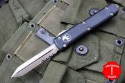 Microtech Ultratech Spartan Double Edge Out the Front Knife