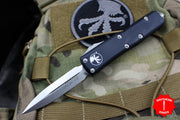 Microtech UTX-85 Double Edge ( OTF ) Out The Front Knife