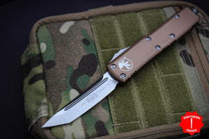 Microtech UTX-85 Tanto Edge Out the Front Knife