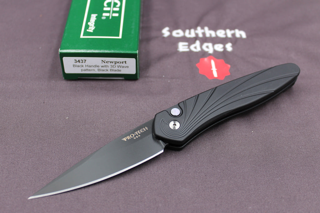"Protech Newport Out The Side (OTS) Auto 3"" Blade *"