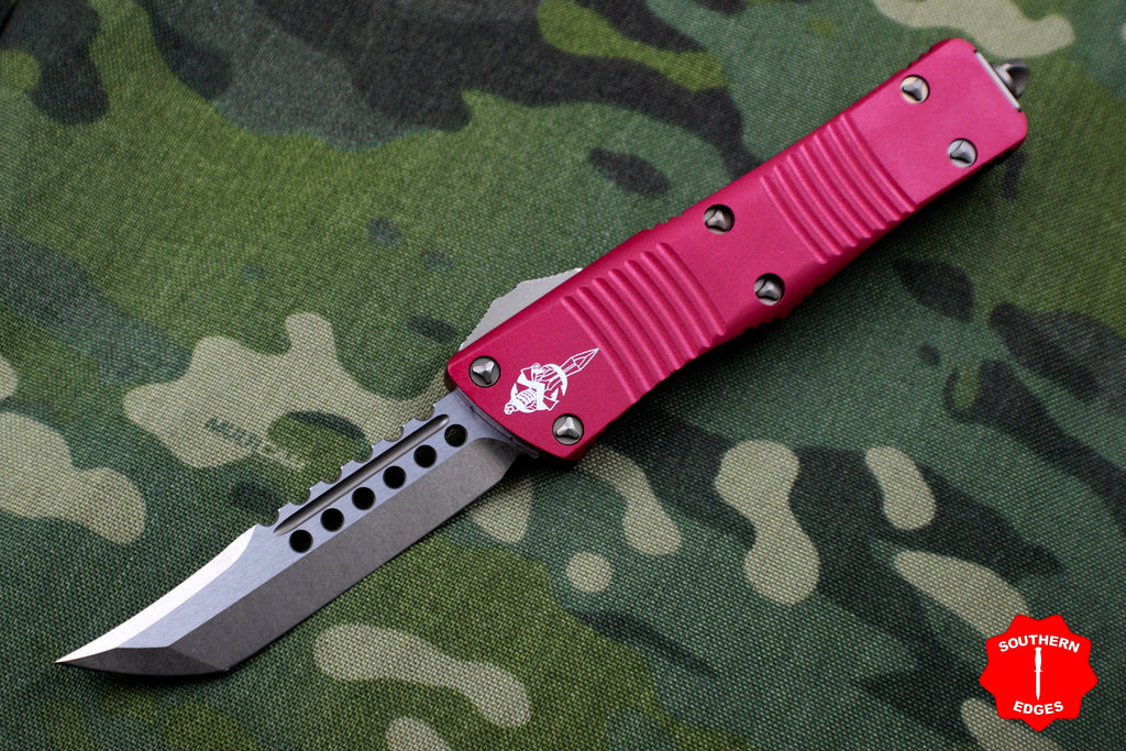 Microtech Troodon Hellhound