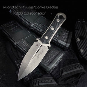 Microtech SBD Double Edge Fixed Blade