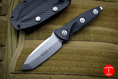 Microtech Socom Alpha Mini Tanto Edge Fixed Stonewash Blade 114M-10