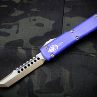 Microtech Ultratech Hellhound Edge Purple OTF Knife Bronzed Blade 119-13 PUS