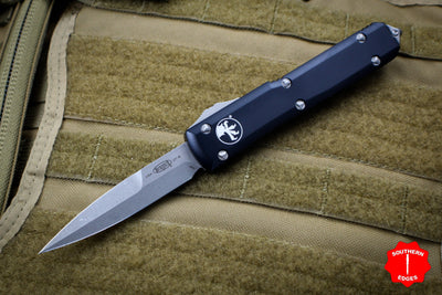 Microtech Ultratech Black Bayonet OTF Knife Apocalyptic Blade 120-10 AP