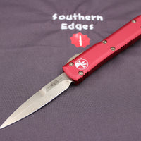Microtech Ultratech Red Bayonet Edge OTF Knife Bronzed Blade 120-13 RD