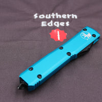Microtech Ultratech Turquoise Bayonet OTF Knife black Blade 120-1 TQ