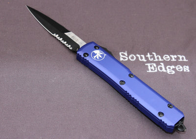 Microtech Ultratech Purple Bayonet OTF Knife black Blade PS 120-2 PU