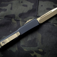Microtech DEATH CARD Ultratech Single Edge OTF Knife Bronze Apocalyptic Blade 121-13 DC