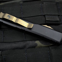 Microtech  DEATH CARD Ultratech Double Edge OTF Knife Bronze Blade 122-13 DC