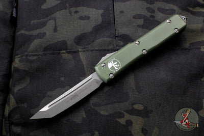Microtech Ultratech OD Green Tanto Edge OTF Knife Apocalyptic Blade 123-10 APOD