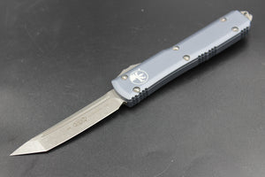 Microtech Ultratech Gray T/E OTF Automatic Knife with Apocalyptic Blade 123-10 APGY