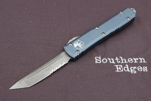 Microtech Ultratech Gray T/E OTF Automatic Knife Part Serrated Apocalyptic Blade 123-11 APGY