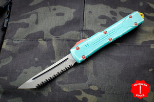 Microtech Ultratech Bounty Hunter Tanto Edge OTF Automatic Knife with Apocalyptic Blade 123-12 BH