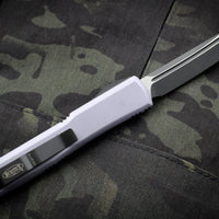 Microtech Ultratech Gray Tanto Edge OTF Knife Black Blade 123-1 GY