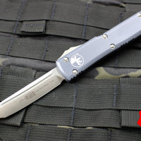 Microtech Ultratech Grey Tanto Edge OTF Knife Satin Blade 123-4 GY