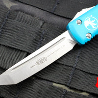 Microtech Ultratech Turquoise Tanto Edge OTF Knife Satin Blade 123-4 TQ
